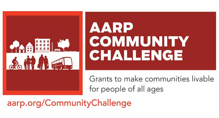 AARP Connecticut Announces 2019 AARP Community Challenge Grant Program