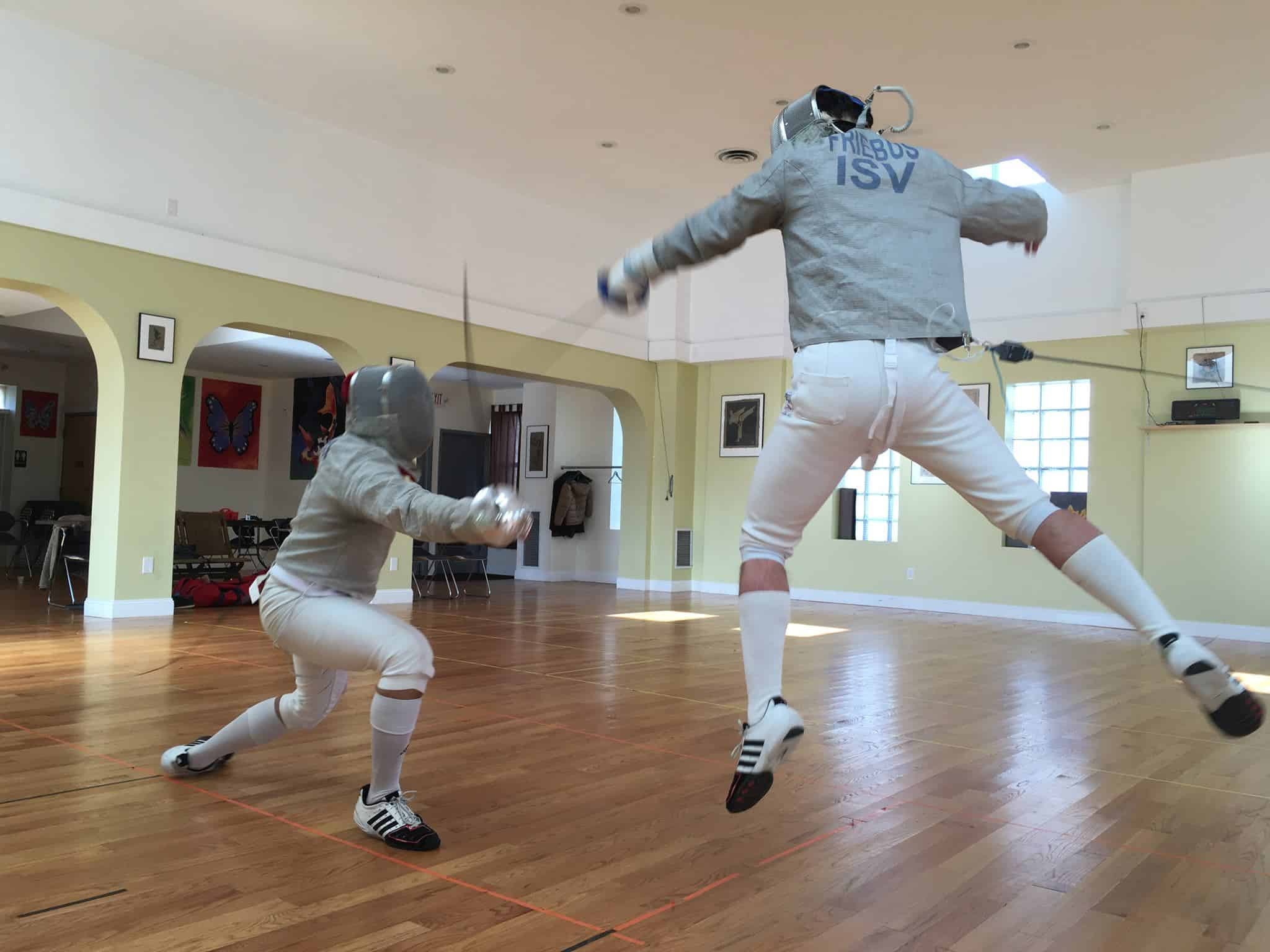A LOVE of fencing from the Caribbean to Connecticut