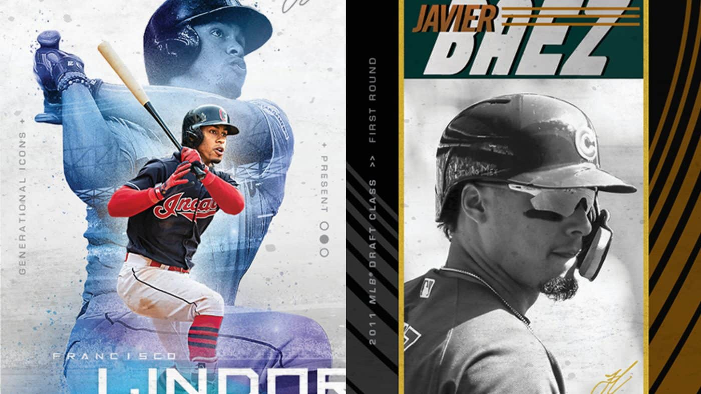 LINDOR TAGS BÁEZ, PUERTO RICAN LEGENDS IN NEW TOPPS SET