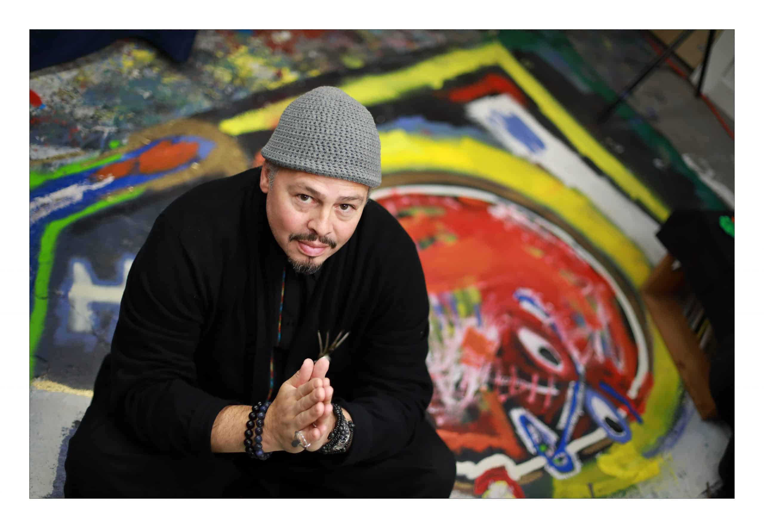 Latino Artist Speaks Universal Language Through Jazz-Themed Art