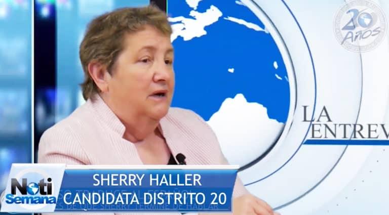 ENTREVISTA: Sherry Haller, Candidata Demócrata por el Distrito 20 de West Hartford