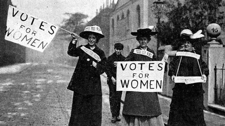 El derecho de la mujer a votar en EEUU cumple 100 años