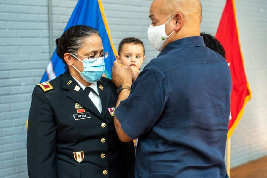 Connecticut Army National Guard promotes Latina officer