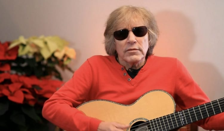 Jose Feliciano celebrates 50 years of 'Feliz Navidad'